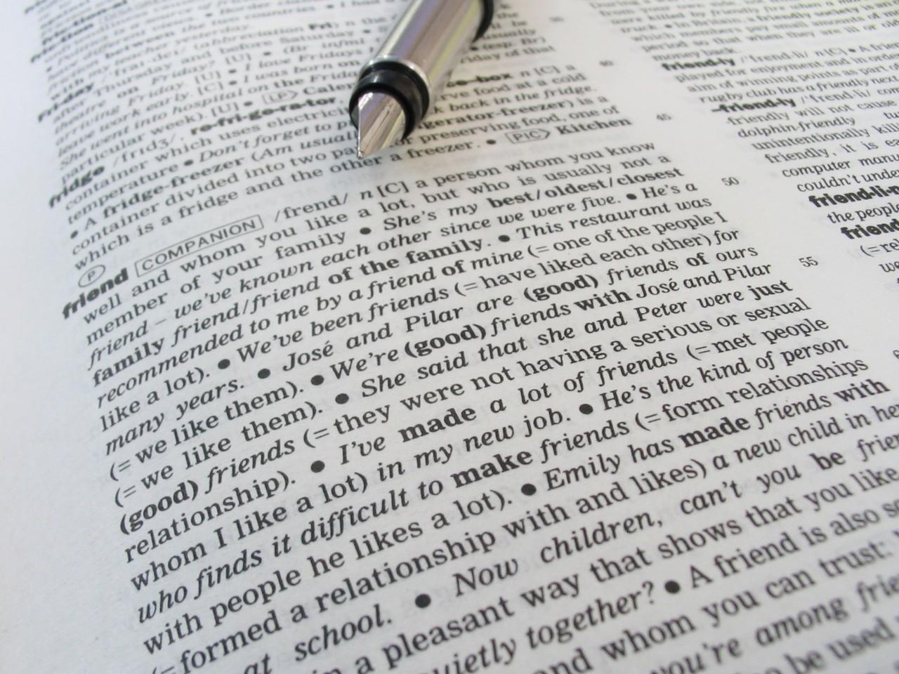 Słowniki jako aplikacje